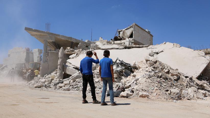 Idlib: Westen warnt Assad vor neuen Chemiewaffeneinsätzen