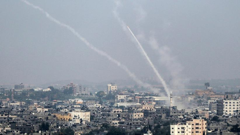 Nahostkonflikt: Ein Verletzter durch Raketenbeschuss aus Gaza