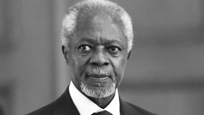 UN-Generalsekretär: Kofi Annan ist tot