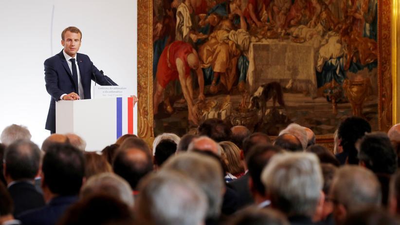 Europäische Union: Emmanuel Macron will Europa militärisch unabhängiger machen