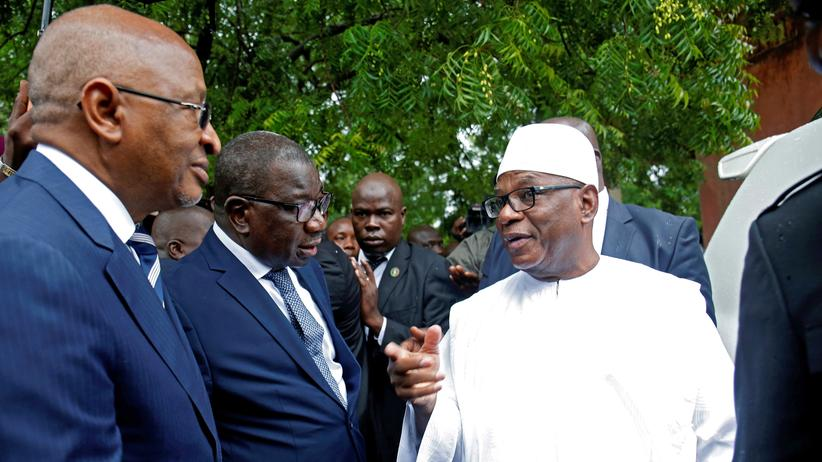 Präsidentenwahl: Ibrahim Boubacar Keïta als Präsident in Mali wiedergewählt