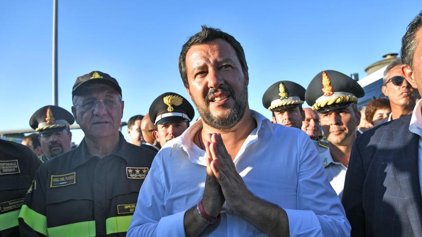 Matteo Salvini: Ein Verfahren kommt ihm gerade recht