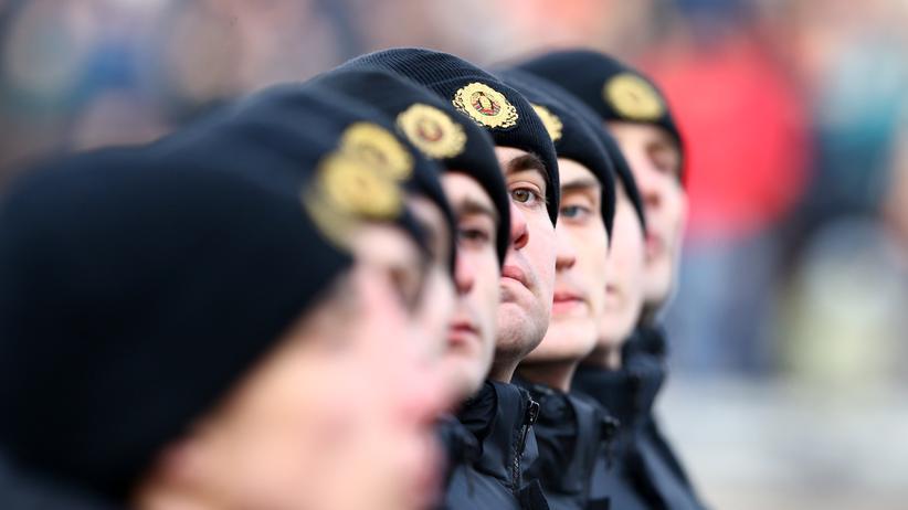 Medien: Polizisten in Weißrussland