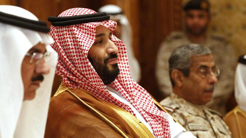 Saudi-Arabien: Der saudi-arabische Kronprinz Mohammed bin Salman im April 2017 in Riad