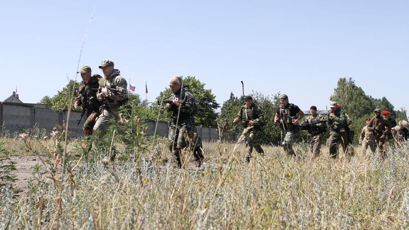 Konflikt in der Ostukraine: Waffenruhe in der Ukraine hält nicht