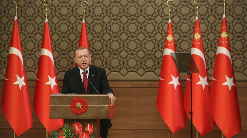 US-Strafzölle: Der türkische Präsident Recep Tayyip Erdoğan