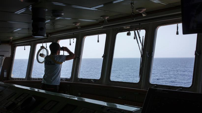 """Seenotrettung: Die """"Aquarius"""" lässt sich tracken"""