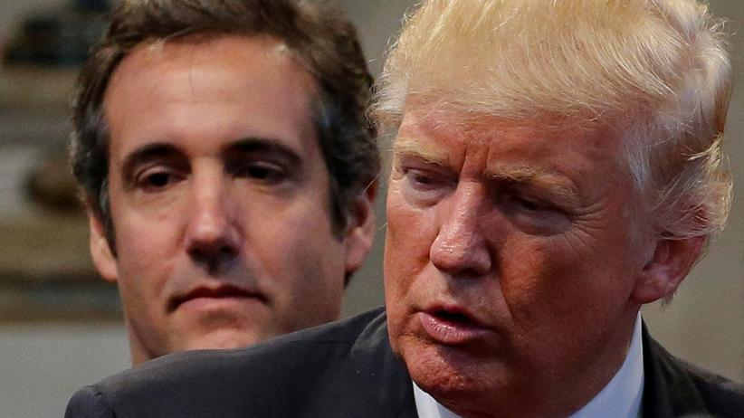 Schweigegeld: Donald Trump widerspricht Michael Cohen