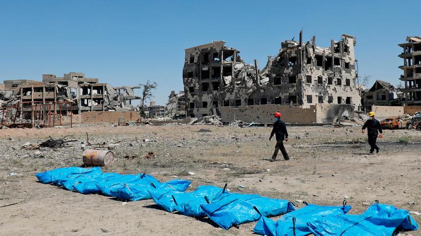 Syrien: Todesnachricht per Zufallsprinzip