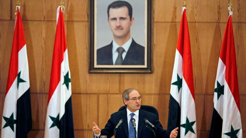 Syrien: Assad-Regierung fordert Aufhebung westlicher Sanktionen