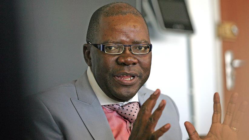 Tendai Biti: Der simbabwische Oppositionspolitiker und frühere Finanzminister Tendai Biti