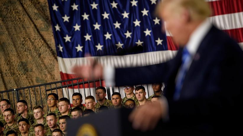 US-Präsident: Trump gibt Stadtregierung Schuld an abgesagter Militärparade