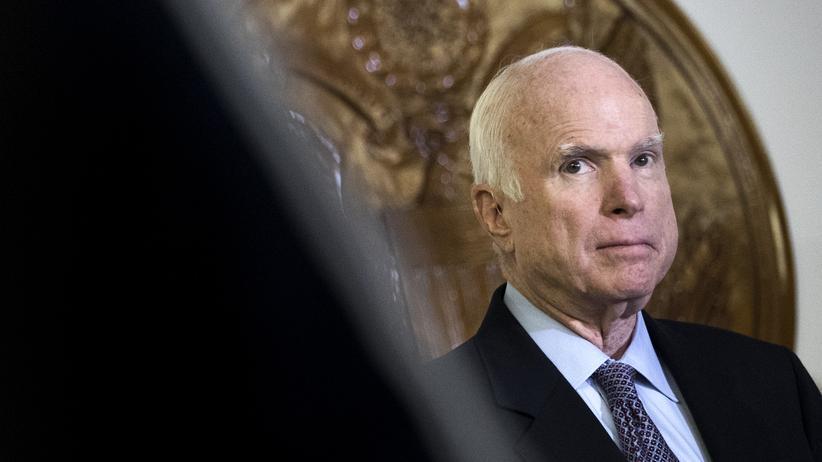 John McCain: US-Senator John McCain ist im Alter von 81 Jahren gestorben.