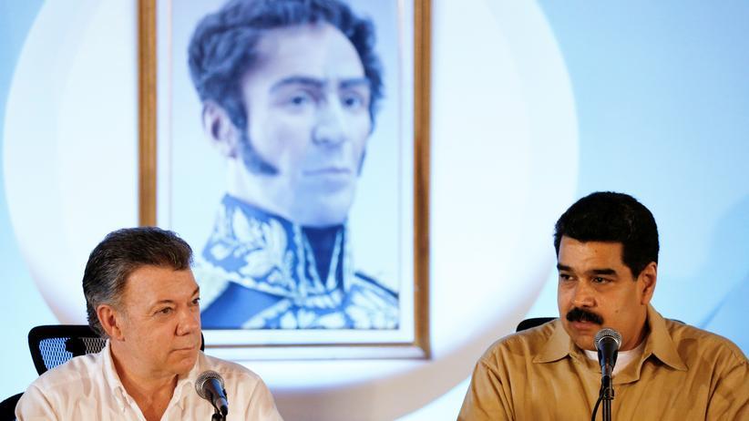 Venezuela: Juan Manuel Santos dementiert Anschlagsplan auf Maduro