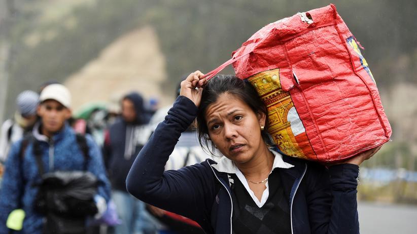 Venezuela: Kolumbien fordert UN-Sonderbeauftragten für Flüchtlingskrise