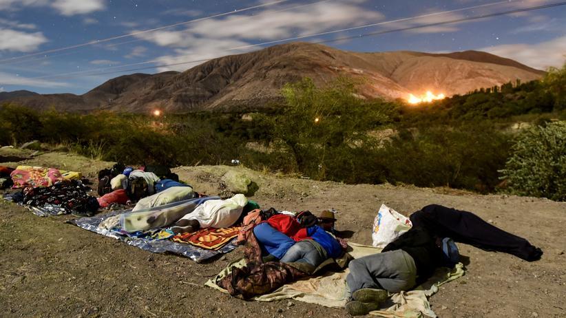 Südamerika: UN warnen vor Folgen einer Massenflucht aus Venezuela