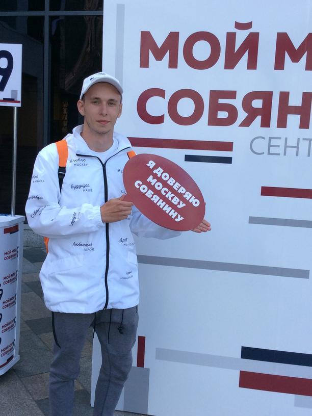 Russland: Alexander Klimow macht als Freiwilliger Wahlkampf für den Amtsinhaber.