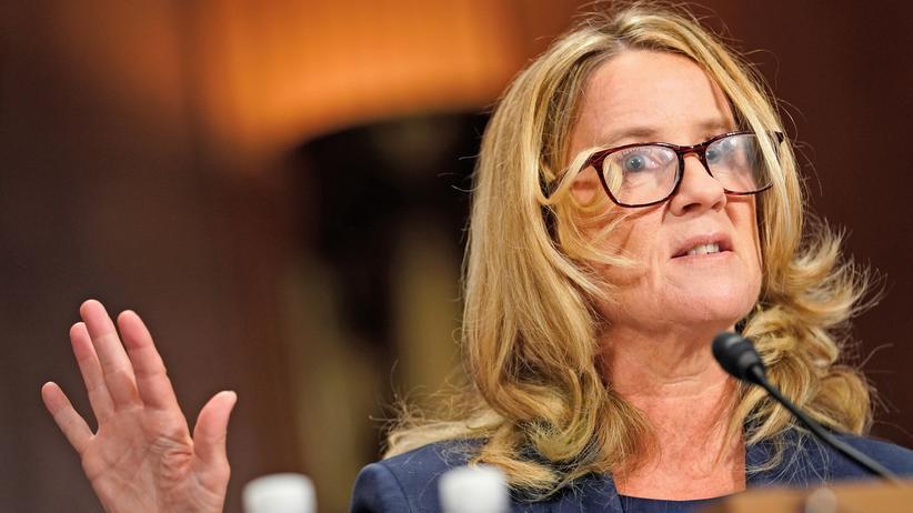 """Kavanaugh-Anhörung: """"Ich glaubte, er würde mich vergewaltigen"""""""