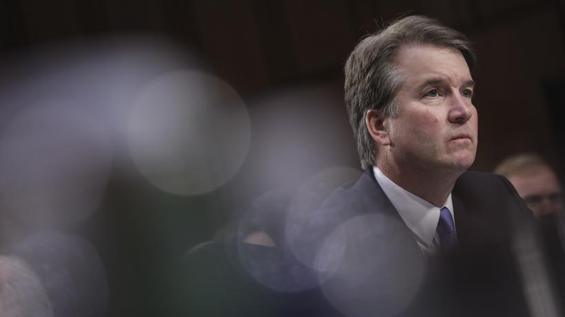 Brett Kavanaugh: Brett Kavanaugh vor dem Justizausschuss des US-Senats