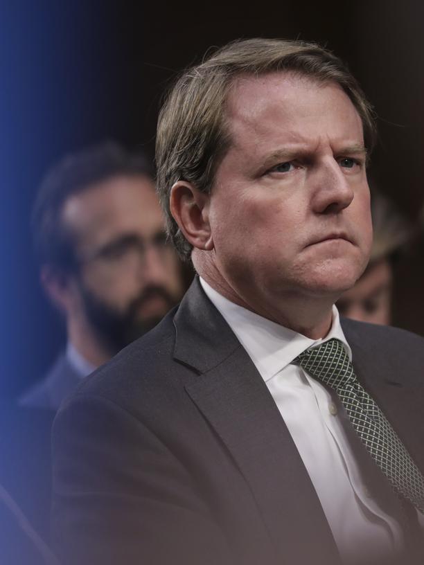 Russland-Affäre: Don McGahn, Rechtsberater im Weißen Haus