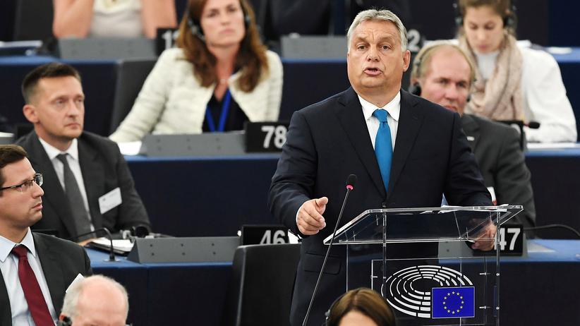 Europäische Union: EU-Parlament fordert Rechtsstaatsverfahren gegen Ungarn