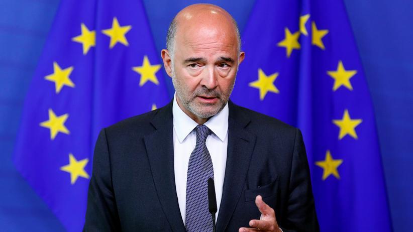 Haushalt 2019: EU-Kommissar Pierre Moscovici