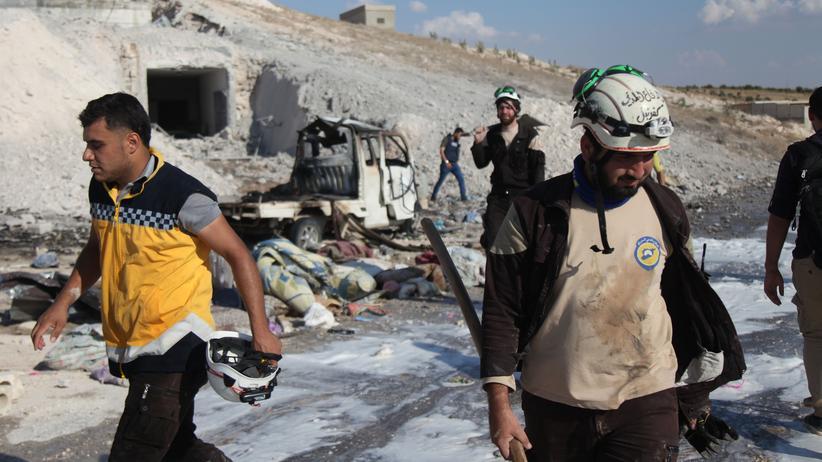 Idlib: Aktivisten berichten von Luftangriffen auf Idlib