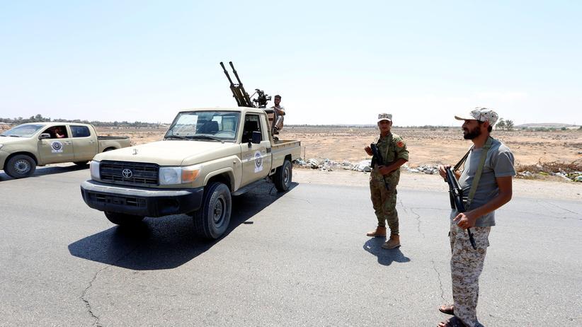 Tripolis: Vereinte Nationen verkünden Waffenstillstand in Libyen