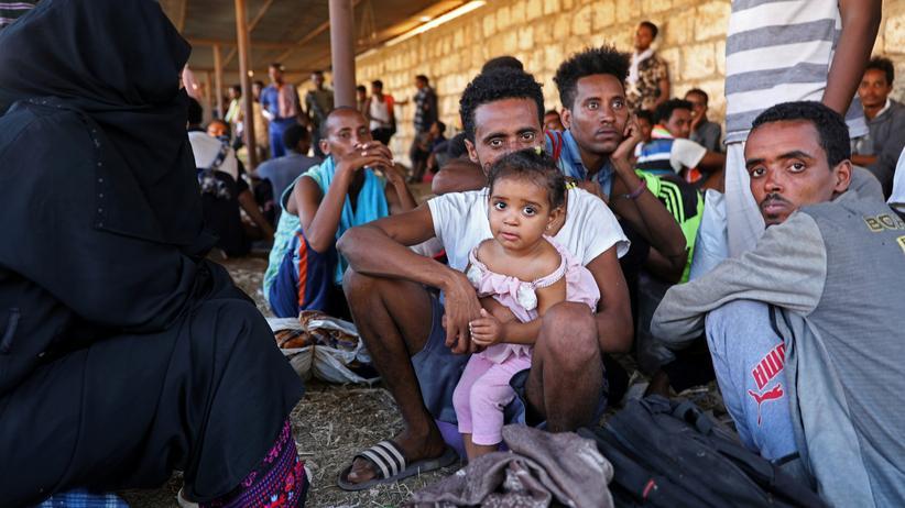 Migration: Zehntausend Flüchtlinge von libyscher Küstenwache gerettet
