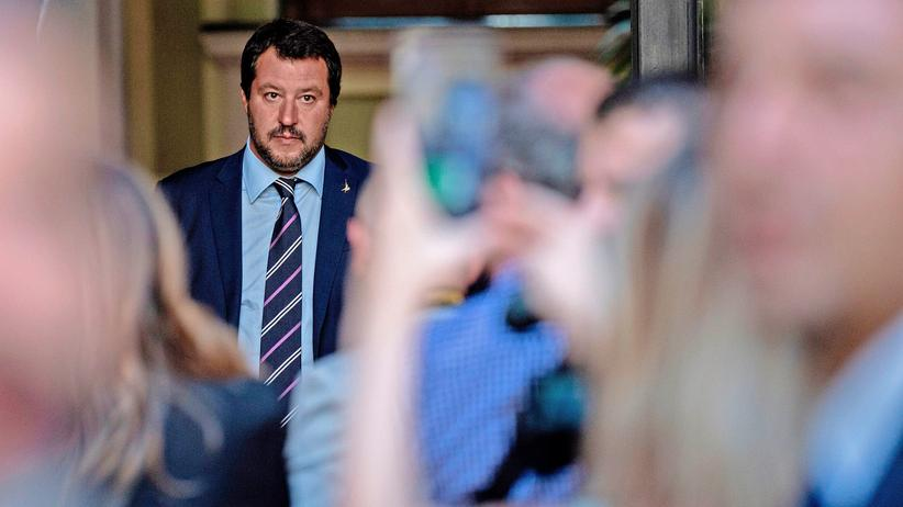 Flüchtlingspolitik: Italiens Innenminister Matteo Salvini