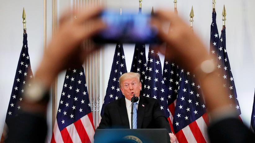 Oberster Gerichtshof: Donald Trump hält sich Alternative zu Brett Kavanaugh offen