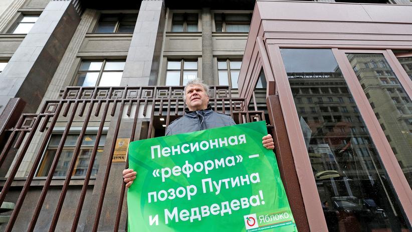 Russland: Parlament verabschiedet Rentenreform