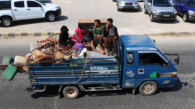 Syrien: Mehr als 30.000 Menschen aus Idlib auf der Flucht