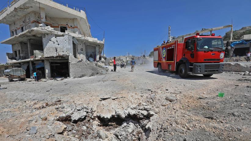 Syrien: UN-Sicherheitsrat warnt vor Offensive auf Idlib