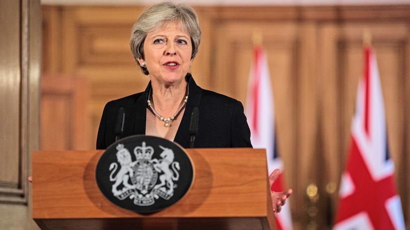 Brexit-Verhandlungen: Theresa May verlangt Respekt von der EU