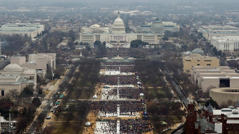 USA: Fotograf räumt Bearbeitung der Bilder von Trumps Amtseinführung ein