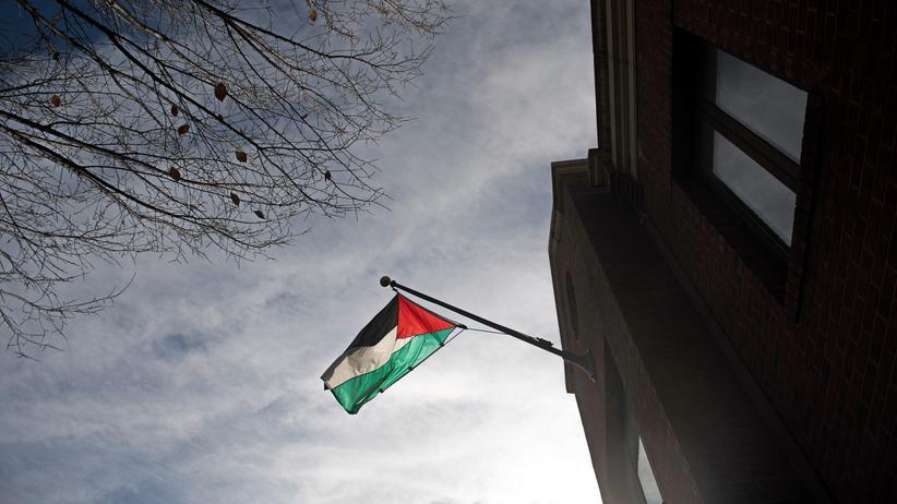 USA: Das Büro der PLO in Washington, D.C.