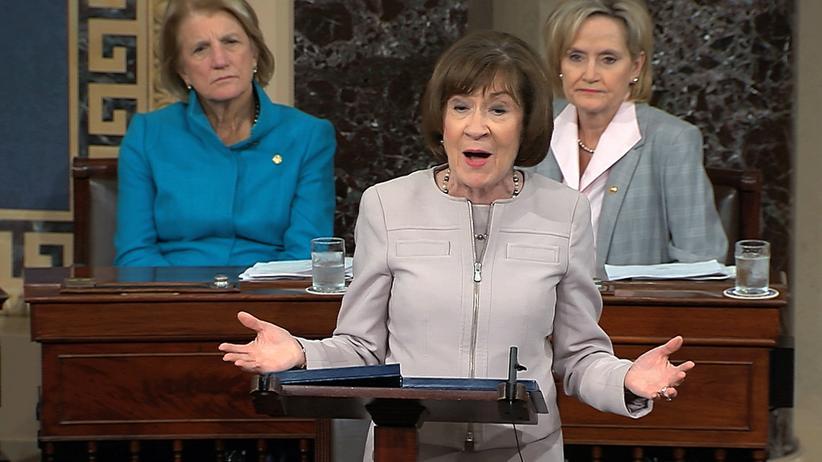 Supreme Court: Die US-Senatorin Susan Collins