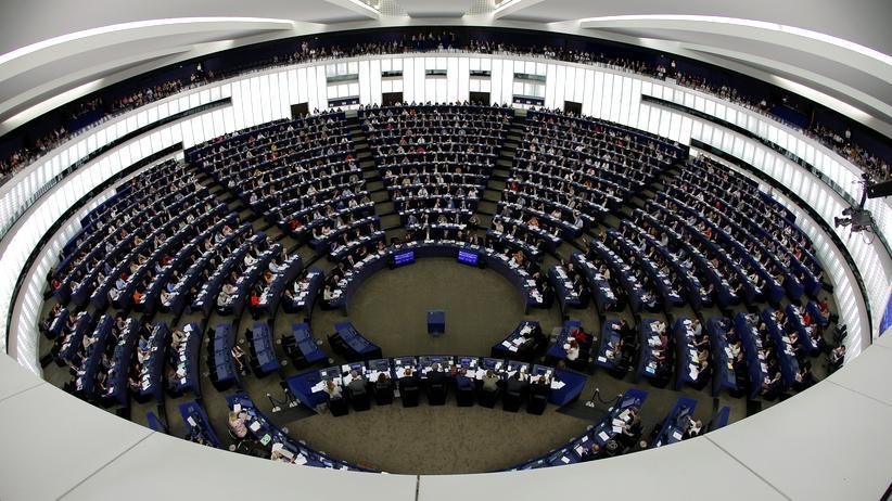 Straßburg: Das EU-Parlament in Straßburg