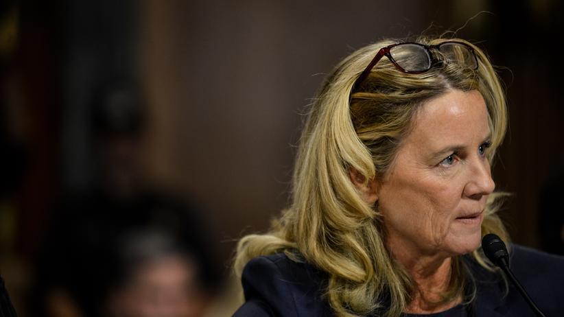 Fall Brett Kavanaugh: Donald Trump verspottet Christine Blasey Ford