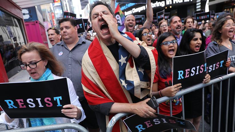 Geschlechtsidentität: US-Regierung will Anerkennung des dritten Geschlechts kippen