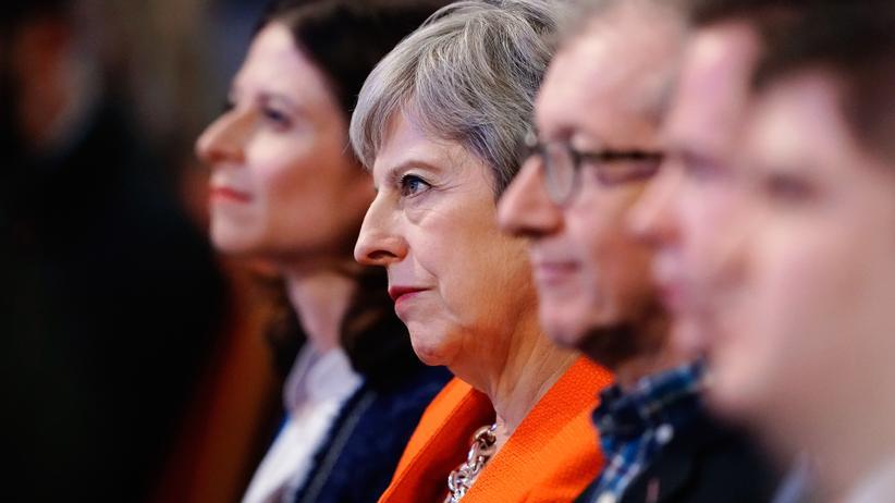 Großbritannien: Premierministerin Theresa May während des Parteitags der Tories