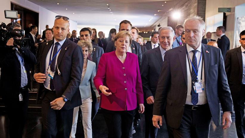 Israel: Angela Merkel will nukleare Bewaffnung des Iran verhindern