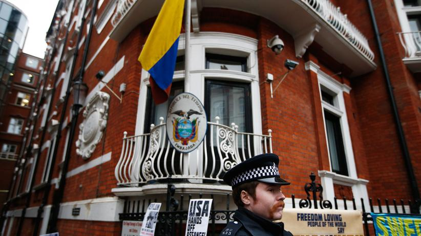 Julian Assange: Ecuadorianisches Gericht weist Klage von WikiLeaks-Gründer ab