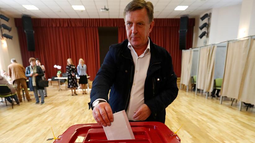Parlamentswahl in Lettland: Lettische Mitte-rechts-Regierung verliert die Mehrheit