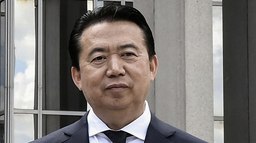 Meng Hongwei: China ermittelt wegen Korruption gegen Ex-Interpol-Chef