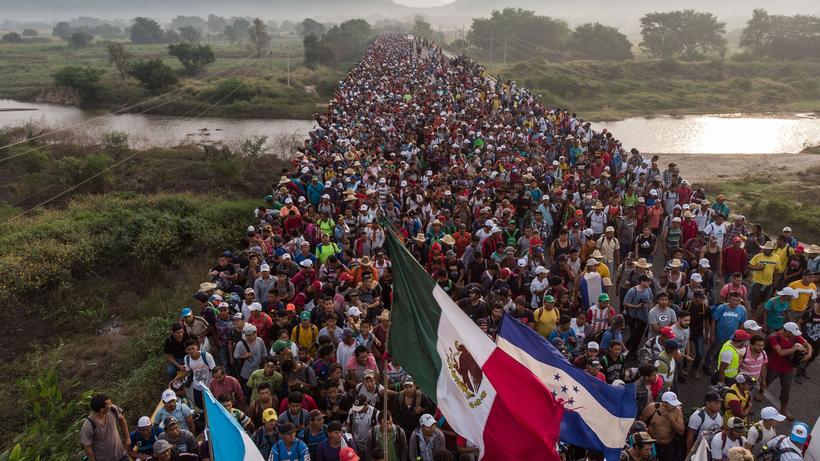 Migranten in Mexiko: Sie gehen | ZEIT ONLINE
