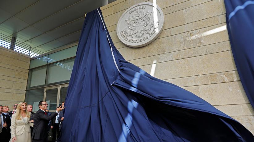 Israel: Eröffnung der US-Botschaft in Jerusalem am 14.Mai 2018