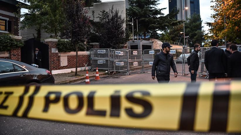 Verschwundener Journalist: Polizeieinsatz im saudi-arabischen Konsulat in Istanbul