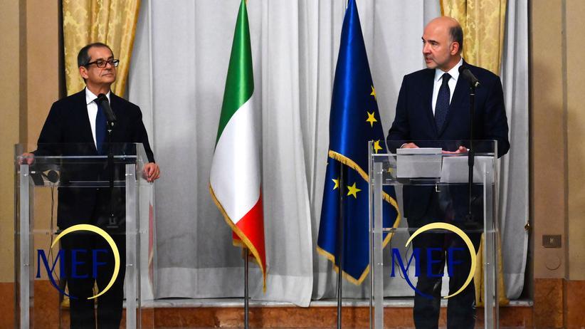 Schuldenstreit: EU-Kommission setzt Italien Ultimatum